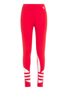 Woman Printed Stretch-cotton Jersey Leggings Red Size 32 Adidas Originals. Купить за 1150 руб. - Leggings Printed Stretch-cotton jersey Elasticated waistband High-rise...