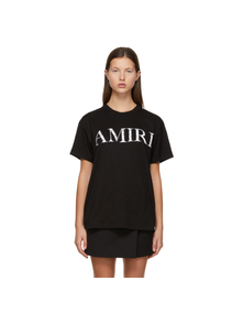 Black Bandana Logo T-Shirt Amiri. Купить за 18181 руб. - Short sleeve cotton jersey T-shirt in black. Rib knit crewneck collar....