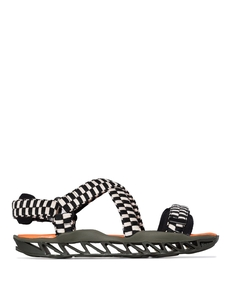 Camper Lab X Bernhard Willhelm Woven-strap Sandals K100602002