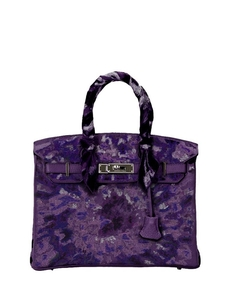 Pristine, Birkin 30cm, Tie Dye, Iris, Leather Togo, PHW - Final Sale Jay Ahr. Купить за 3421923 руб. - Tie dye culture made its debut in America in the swinging sixties as a...