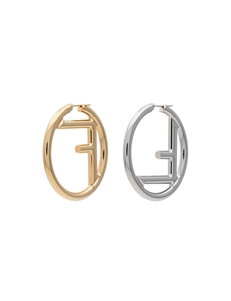 Fendi Ff Logo Earrings 8AG797B08