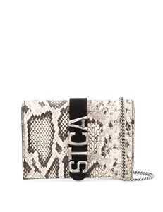 Just Cavalli Snakeskin 'stca' Belt Bag S07WG0165P3505
