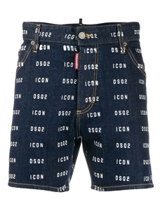 Dsquared2 Dzhinsovye Shorty Icon Dsq2 S Logotipom S79MU0002S30342