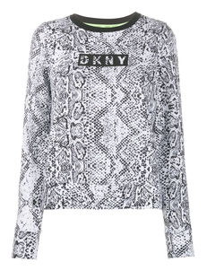 Dkny Tolstovka So Zmeinym Printom I Logotipom DP9T7089