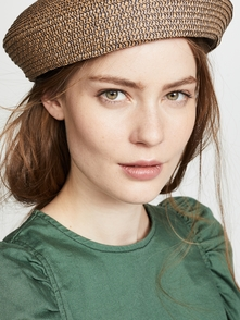 Audrey Beret Hat Brixton. Купить за 1727 руб. - Fabric: Straw Beret silhouette Shell: 100% paper Spot clean Imported, ...