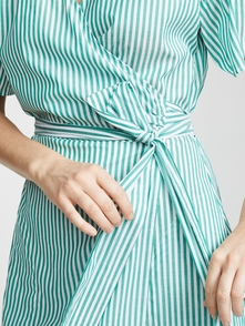 Velvet Jayel Striped Dress 20419174