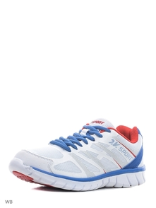 2k Krossovki 115025/white/royal/red