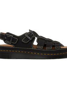 Dr.martens Dr. Martens Black Leather Fisherman Sandals 29574143