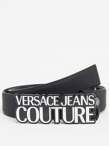 Versace Jeans Couture Remen S Firmennoy Pryazhkoy -chernyy 28310600