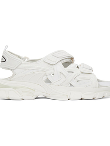 Balenciaga White Track Sandals 30083174