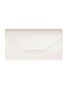 Felice Klatch FELICE_CLUTCH_BAG_F07F_LIGHT_BEIGE WHITE