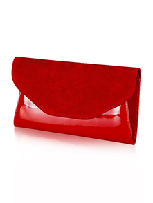 Felice Klatch FELICE_CLUTCH_BAG_F01D_RED RED
