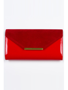 Felice Klatch FELICE_CLUTCH_BAG_F09_RED RED