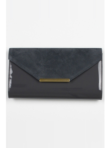 Felice Klatch FELICE_CLUTCH_BAG_F09_GRAPHITE GREY